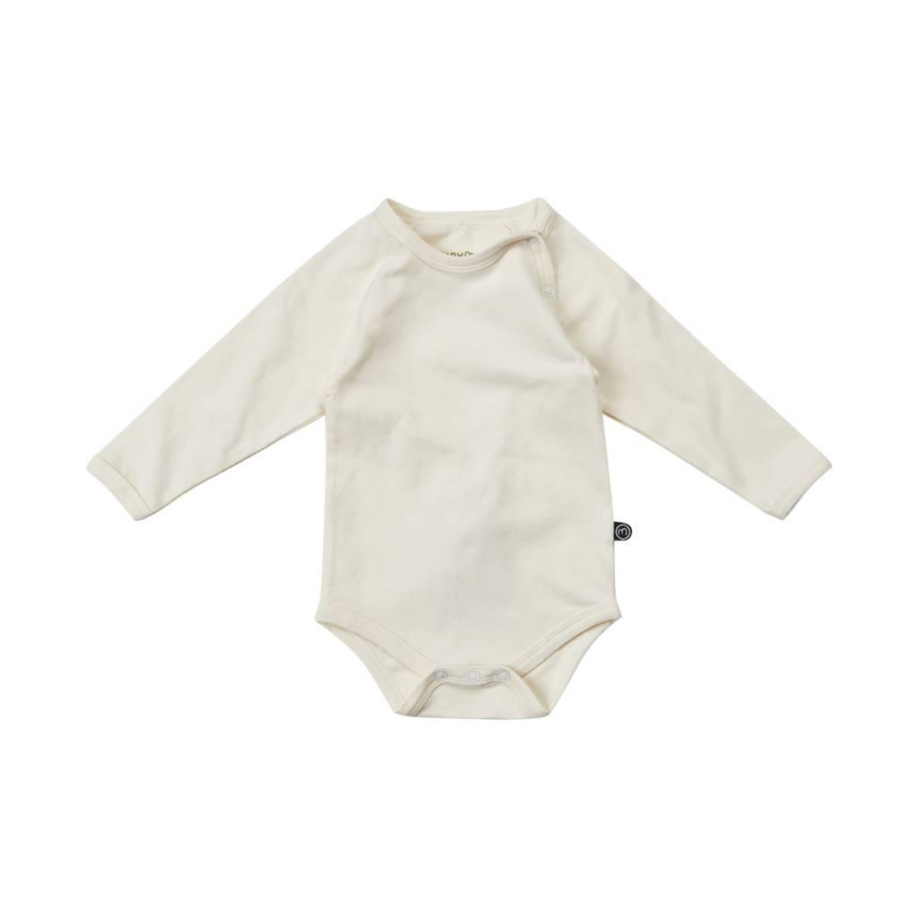 Minymo - organic cotton cremefarbener Body - BIO von minymo