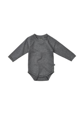Minymo - organic cotton grauer Body - BIO