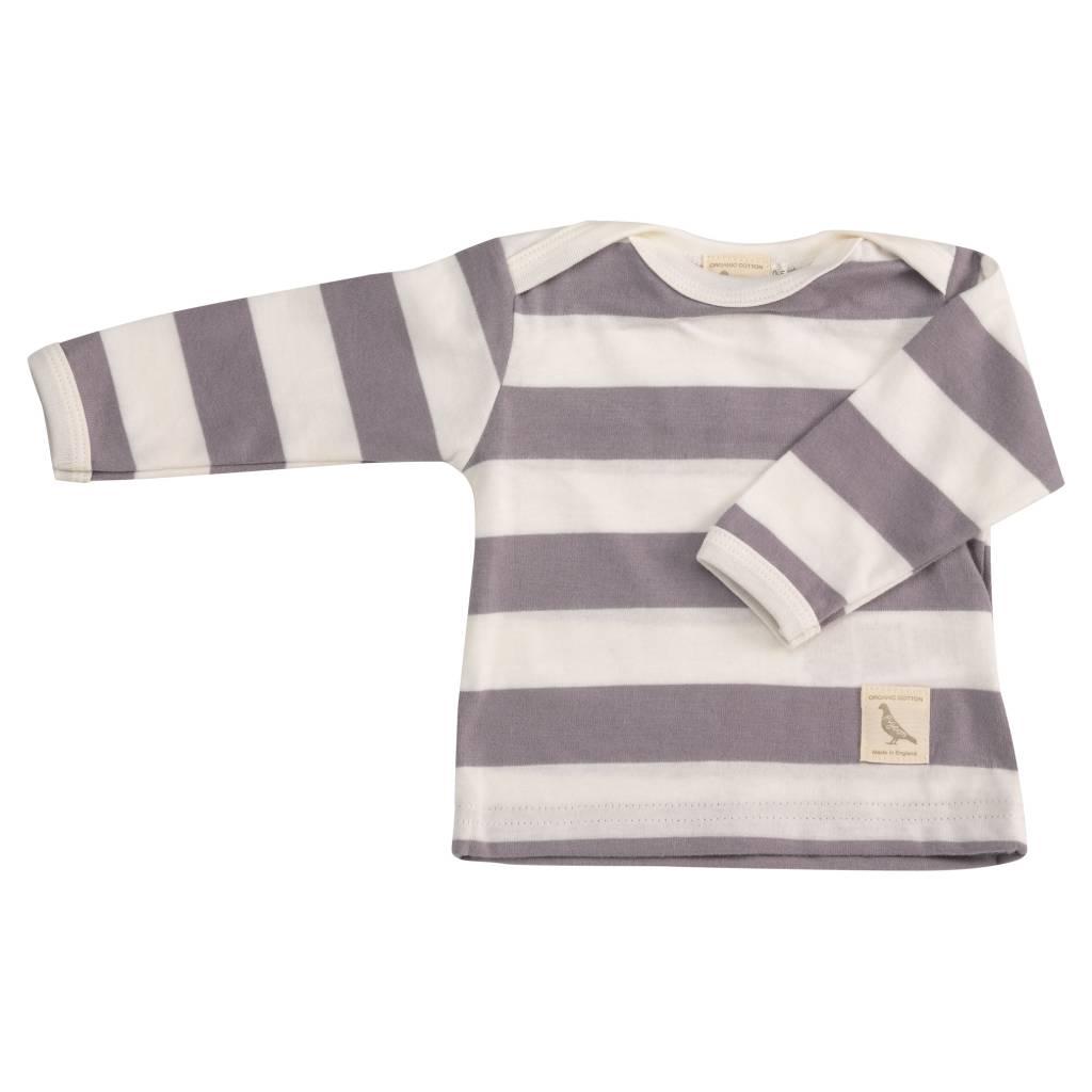 grau-gestreiftes Shirt - BIO von Pigeon Organics