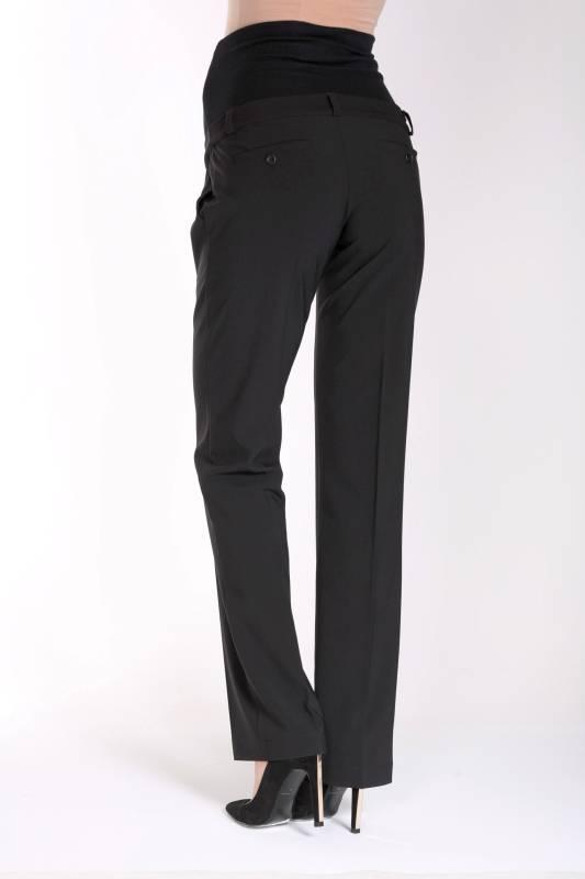 9fashion - schicke Umstandsmode und Stillmode Umstandshose Business Bundfaltenhose in schwarz von 9fashion