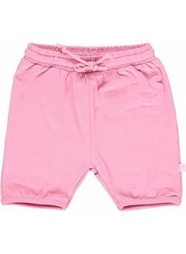 Småfolk - bunte skandinavische Mode rosa Baby Shorts BIO
