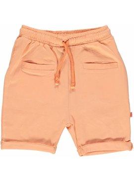 Småfolk - bunte skandinavische Mode orange Baby Shorts BIO