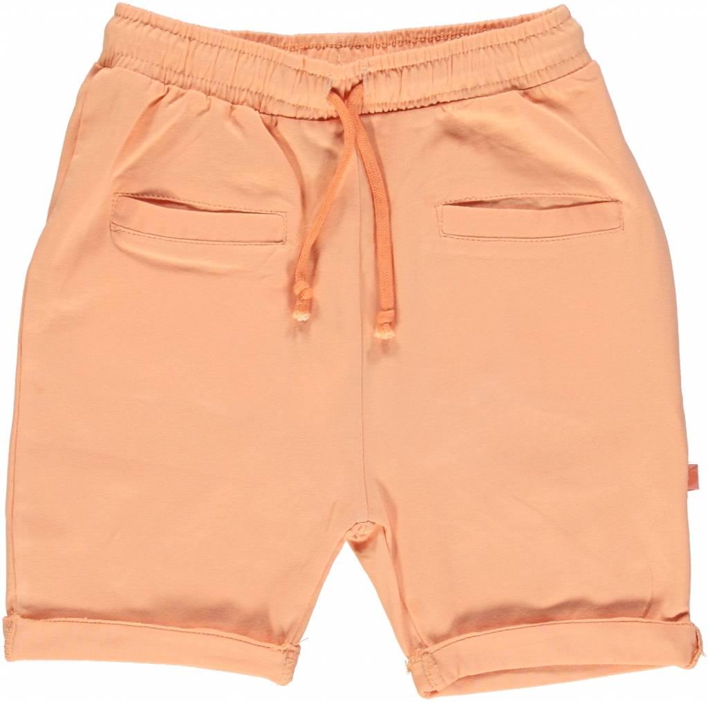 orange Baby Shorts BIO uni BIO (GOTS) von Smafolk