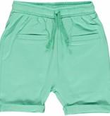grüne Baby Shorts BIO uni BIO (GOTS) von Smafolk