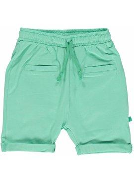 Småfolk - bunte skandinavische Mode grüne Baby Shorts BIO