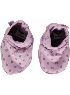 Småfolk - bunte skandinavische Mode lila Babyschuhe