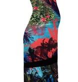 Love2Wait - coz you're more Maxikleid Umstandskleid Maxiumstandskleid mit Palmendruck von Love2Wait