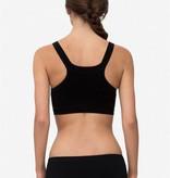 Milker - dänische Umstandsmode und Stillmode Still BH Sport BH in schwarz mit weißen Punkten aus Bambusfaser von Milker Nursing - Copy