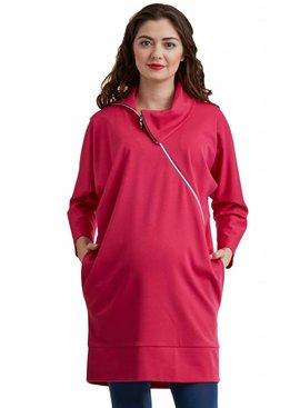 mamaija - sinnliche und funktionale Umstandsmode Umstandspullover - Stillpullover pink