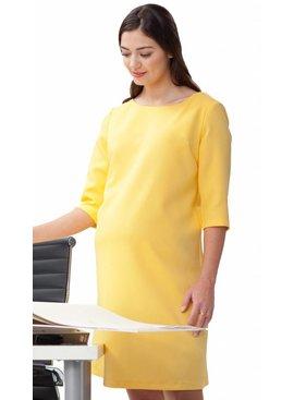 Umstandskleid gelb