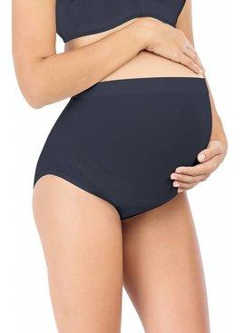 Milker - dänische Umstandsmode und Stillmode Schwangerschaftsslip schwarz Bambus