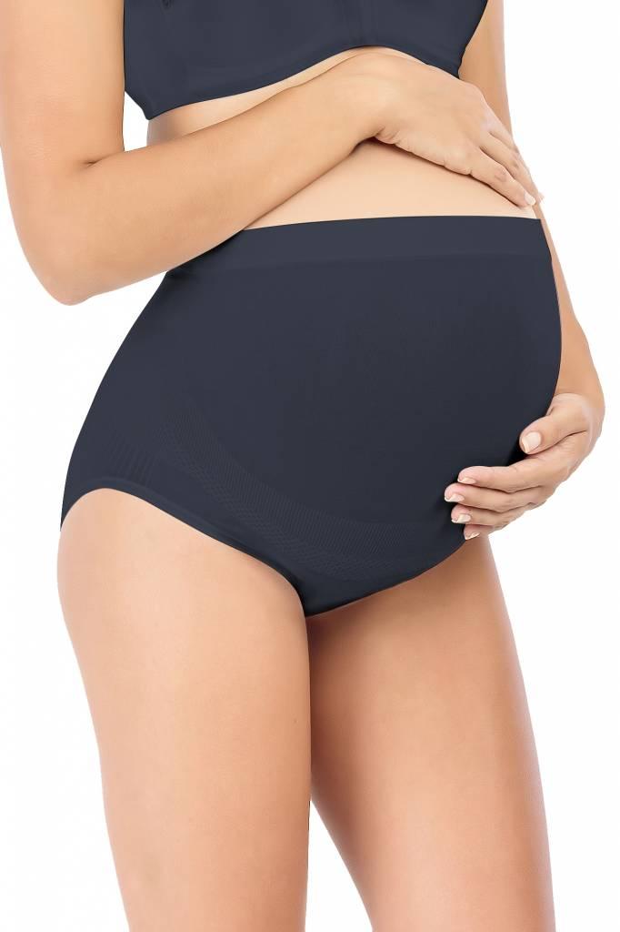 Schwangerschaftsslip schwarz aus Bambusfaser von Milker Nursing