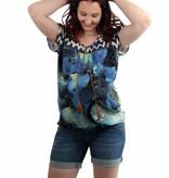stylisches Umstandsshirt im Ethnostyle von Love2Wait