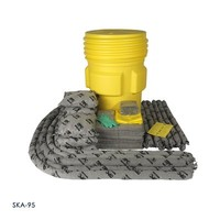200 liter vat interventie kit voor middelgrote tot grote spills en lekkages SKO-55 / SKH-55 / SKA-55