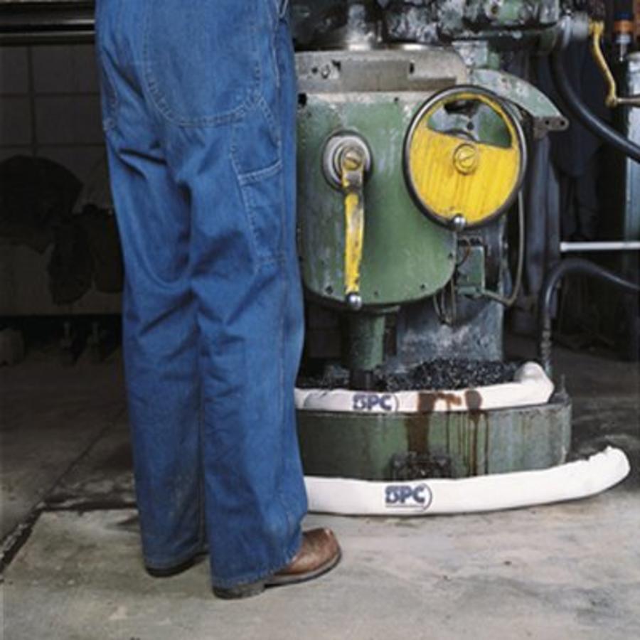 Olie-absorberende Sock enkel voor olie en oliehoudende vloeistoffen OIL430 / OIL412 / OIL806 / OIL124 / OIL561