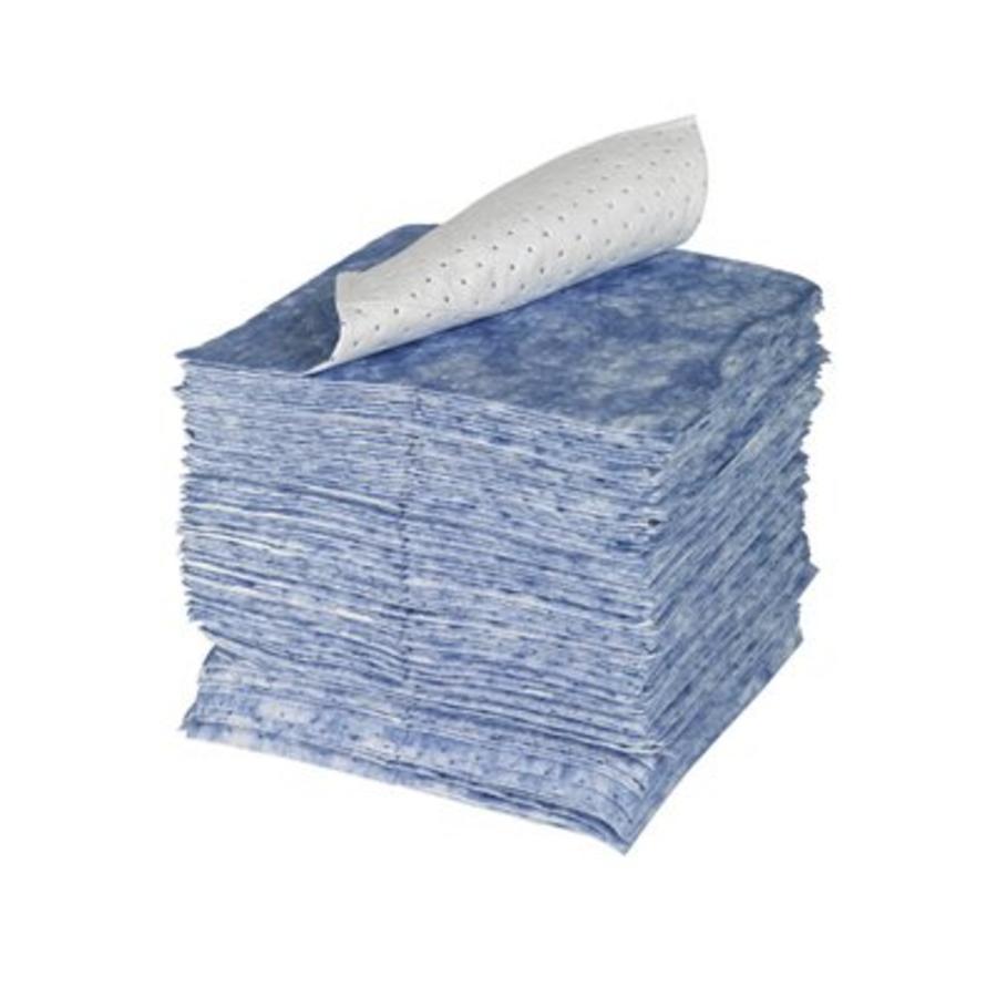 100 stuks Olie-absorberende doeken met versterkte bovenlaag SPC105-E SPC BLUE