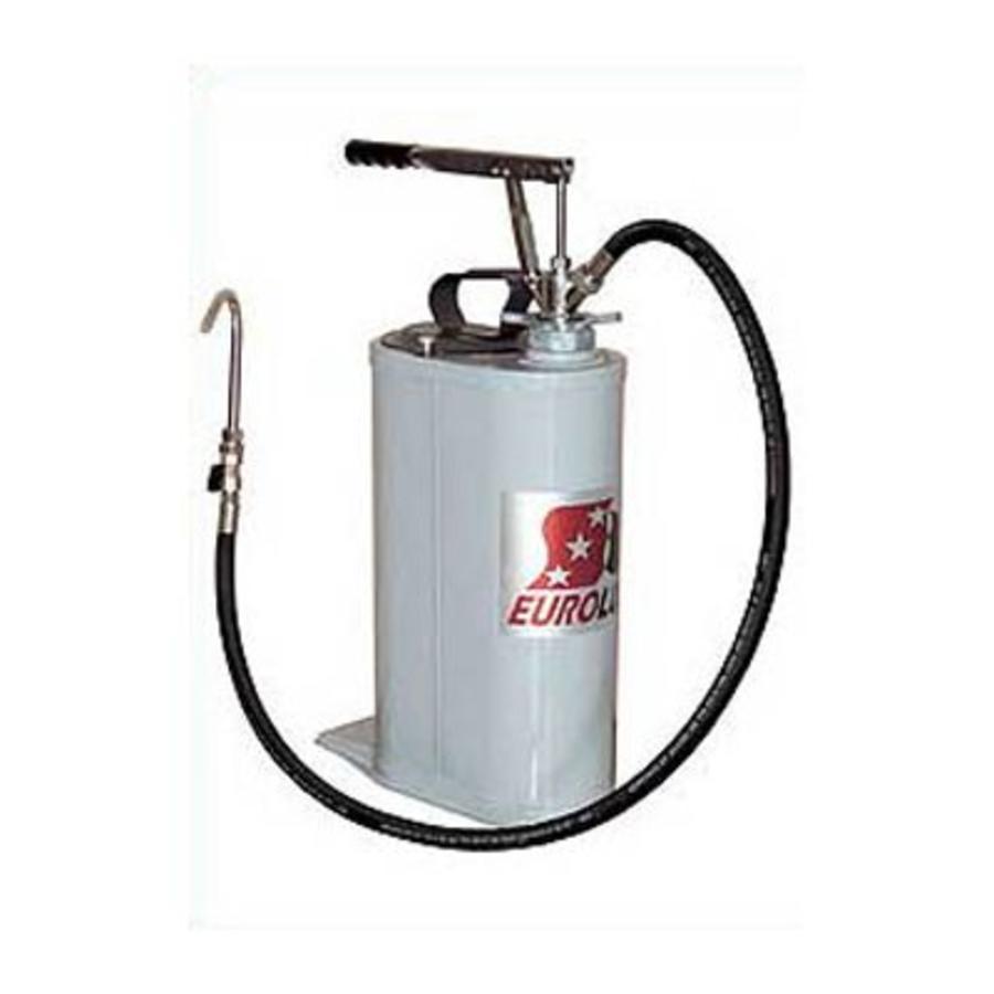 Hendel bediende draagbare olie dispenser 17L 137-35