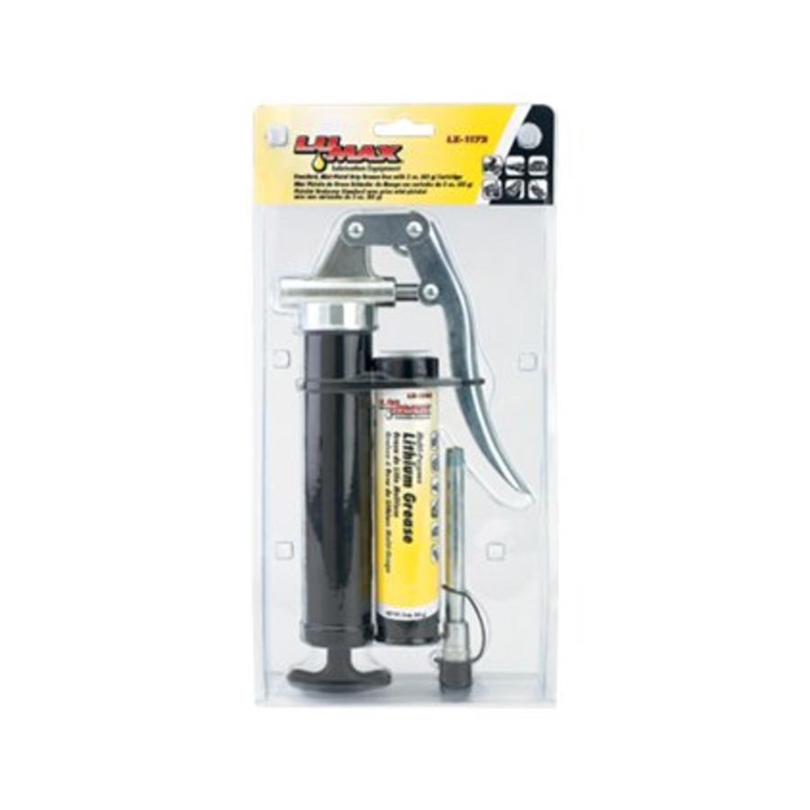 Mini smeerpistool / vetpistool met stalen afleverbuis LX-1172
