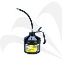 Lumax Roterende vatpomp 'Premium'Tweeweg pompfunctie met flexibele slang voor drums van 60l - 208l LX-1322