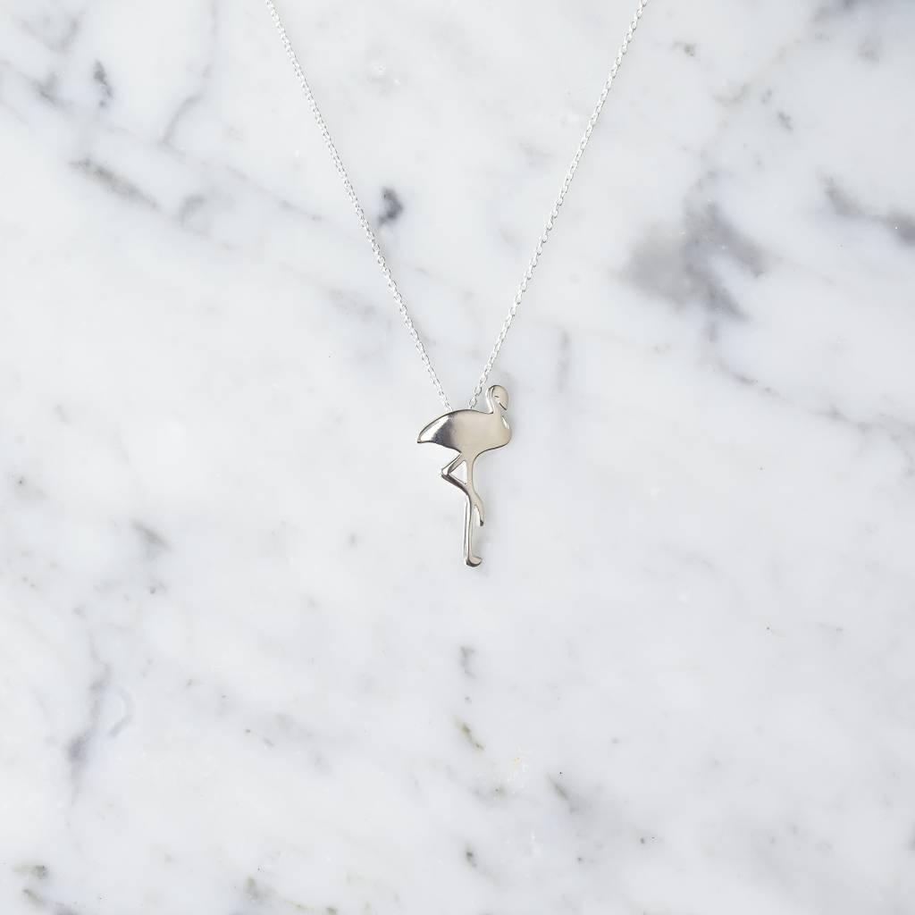 Flamingo Necklace | 925 silver