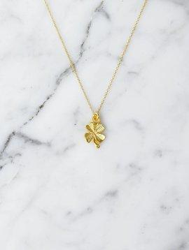 Cloverleaf | gold plated