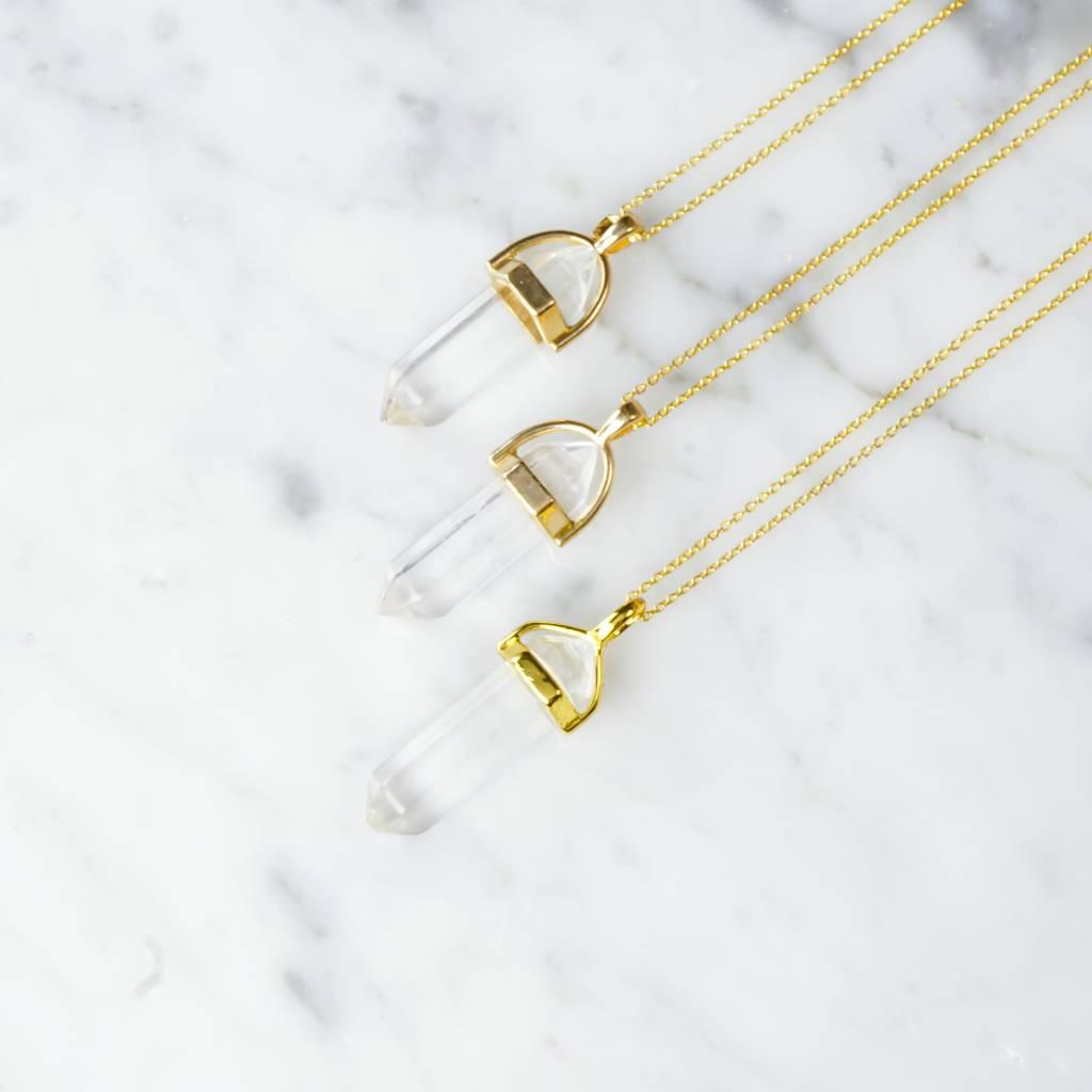 Stäbchen | Kristall |gold