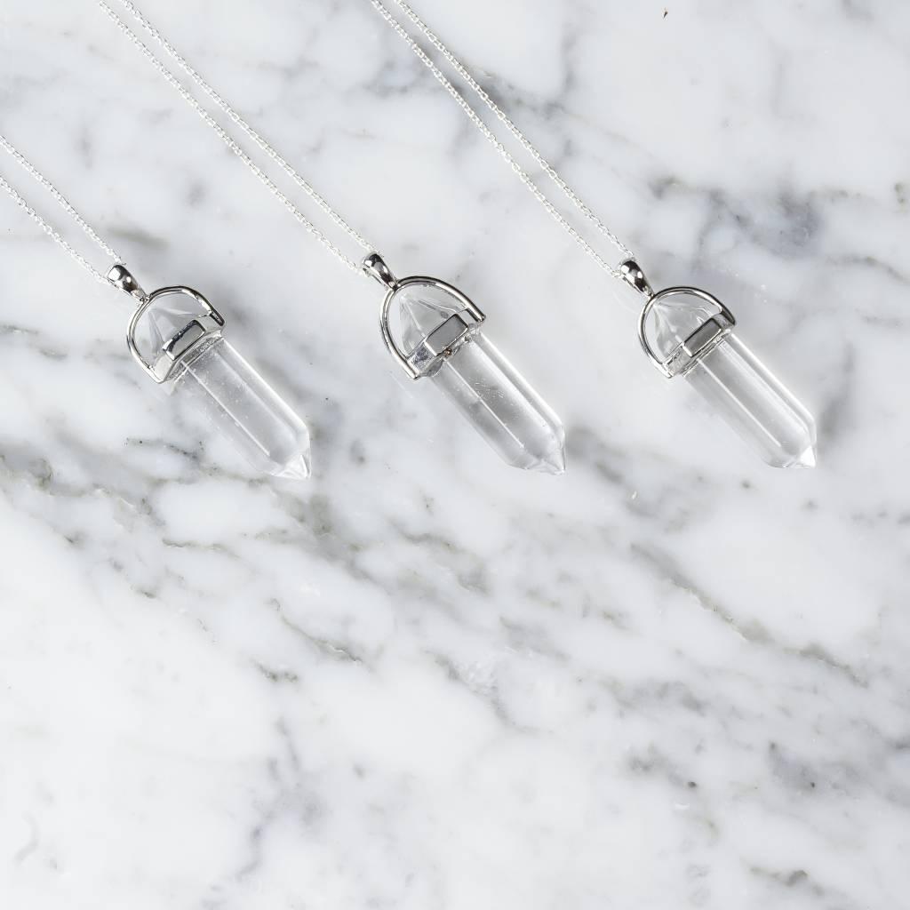 Stäbchen | Kristall |silber