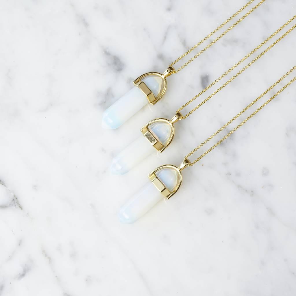 Stäbchen | Opal |gold