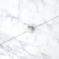 Necklace with Tree of life pendant | rose gold plated 925 silver
