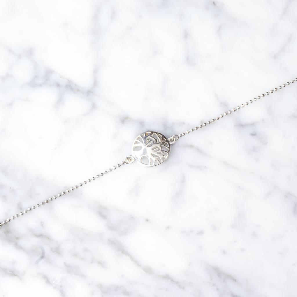 Armband mit Lebensbaum aus 925er Silber