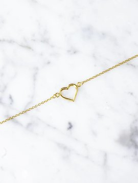 heart | gold plated