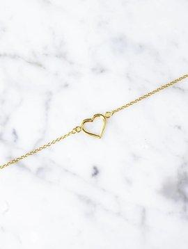 Herz | vergoldet
