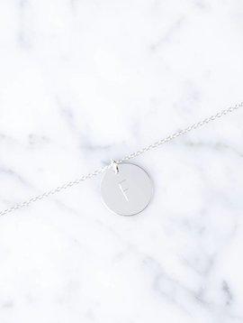 Single initial bracelet | 925 silver