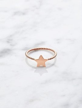 Little Star | rose gold plated 925 silver