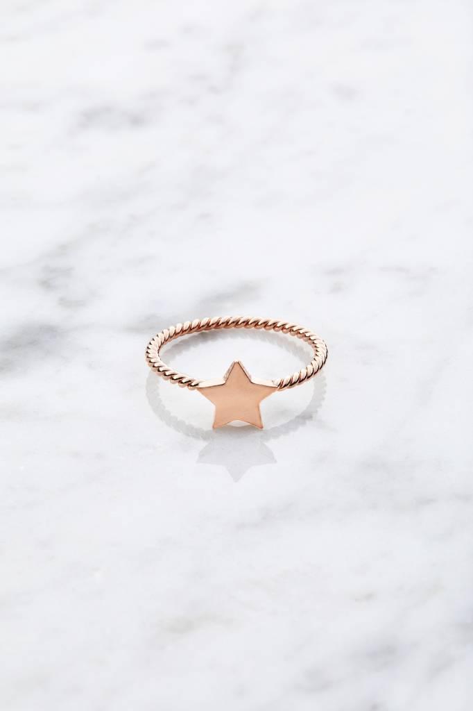 Little Star | rosé vergoldet