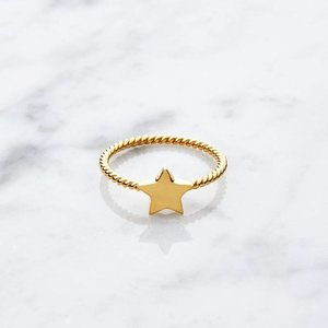 Little Star | gold plated 925 silver