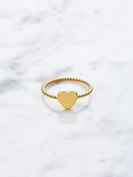 Little heart | gold plated 925 silver