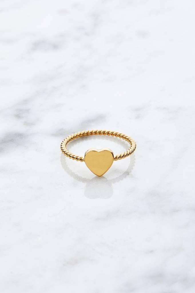 Little Heart | vergoldet