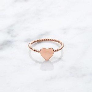 Little Heart   rosé vergoldet