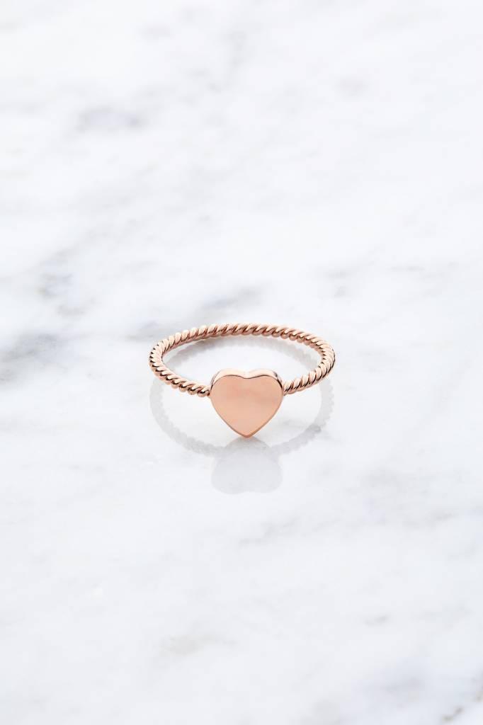 Little Heart | rosé vergoldet