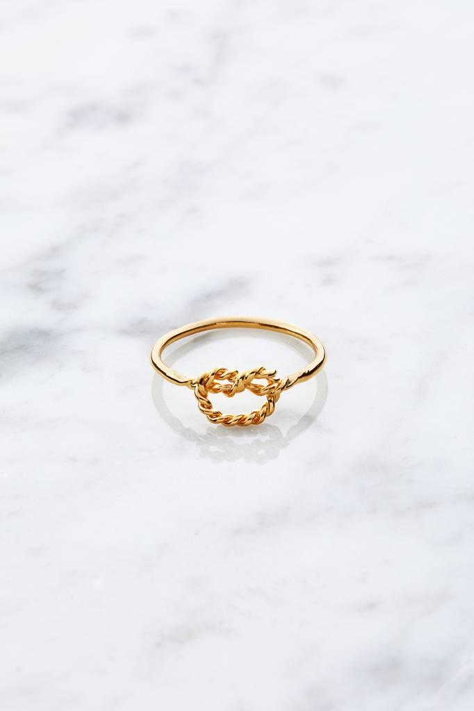 Little knot | vergoldet