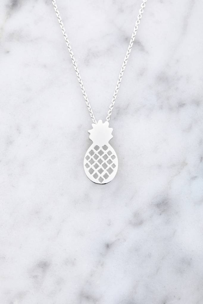 Pineapple Necklace | 925 silver