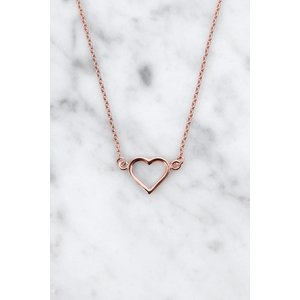 Everybody's Darling Necklace | rose gold plated 925 silver