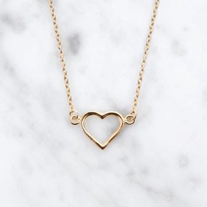 Everybody's Darling Heart | gold plated