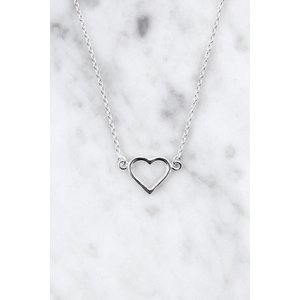 Everybody's Darling Necklace with heart pendant | 925 silver