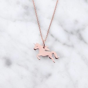 Unicorn | rosé vergoldet