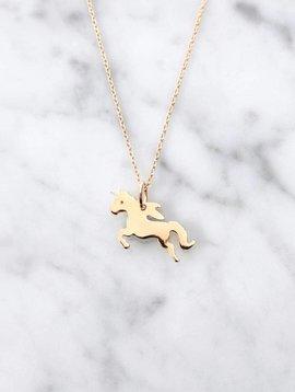 Unicorn   gold plated