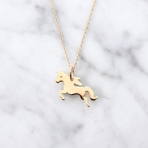 Unicorn | vergoldet