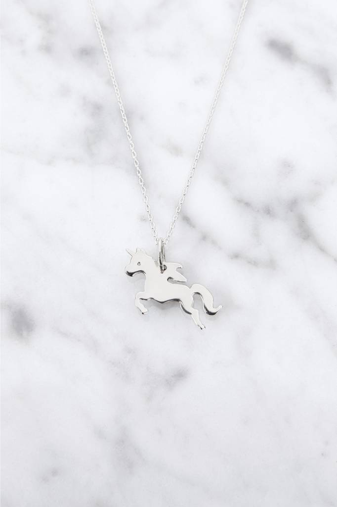 Necklace with Unicorn | 925 silver