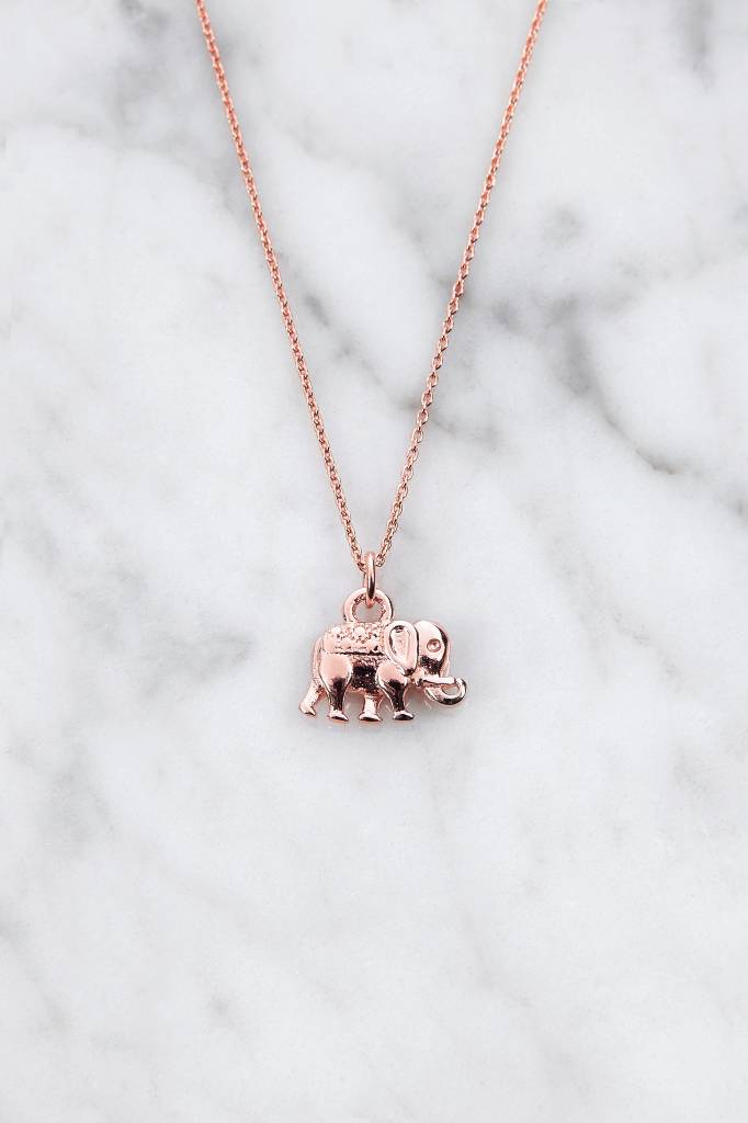 Sweet Sally Necklace | rose gold plated 925 silver - Copy